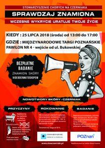 Plakat Badania POznań 2018 Targi
