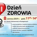 Plakat DZIEŃ ZDROWIA - 08.06.2019 r.